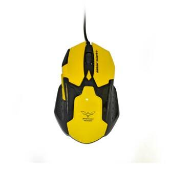 Onde Comprar Mouse Gaming MD-MS898YELLOW - Microdigi