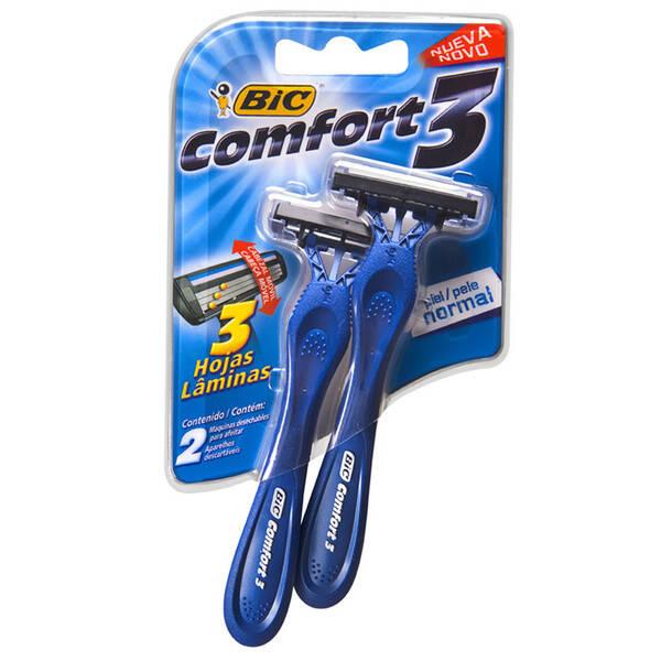 Onde Comprar Aparelho De Barbear Bic Comfort 3 Pele Normal C/ 02 Unidade