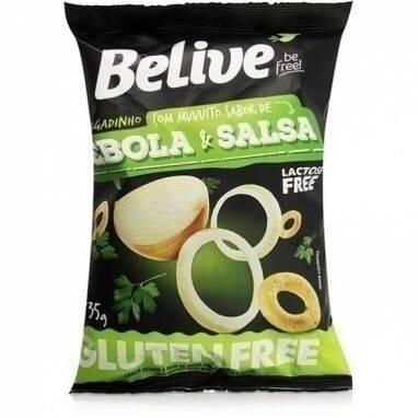 Onde comprar Snack Cebola e Salsa Sem Gluten e Sem Lactose - BeLive