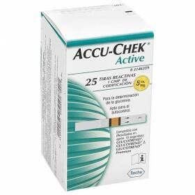 Onde comprar Tiras Teste De Glicemia Accu-chek Active C/ 25 Unidades