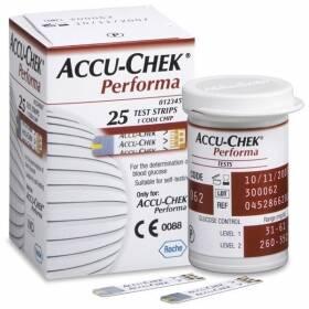 Onde comprar Tiras Teste De Glicemia Accu-chek Performa C/ 25 Unidades