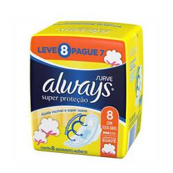Onde comprar Absorvente Always L8p7 Suave C/a