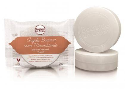 Onde comprar Sabonete de Argila Branca Macadamia - Boutique do Corpo Cosméticos