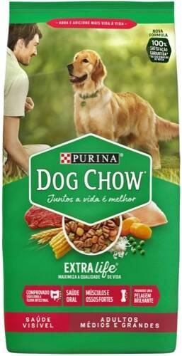 Onde comprar Purina Dog Chow Adultos Raças Médias E Grandes Pacote 3 Kg