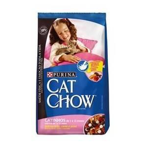 Onde comprar Cat Chow Pacote Gatinhos Delícias De Leite, Carne E Peixe Filhotes De 1 A 12 Meses