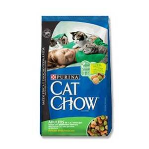 Onde comprar Cat Chow Pacote Adultos Delícias De Aves 1 A 7 Anos Que Vivem Em Ambientes Internos