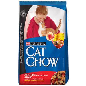 Onde comprar Racao Purina Cat Chow 3kg Adultos Carne