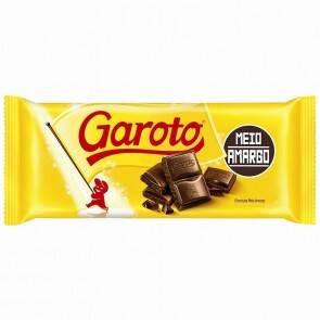 Onde comprar Chocolate.garoto Meio Amargo