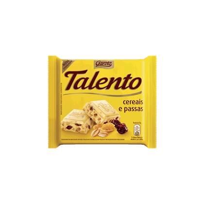 Onde comprar Chocolate Talento Mini Branco Com Cereais E Passas 15unidade X