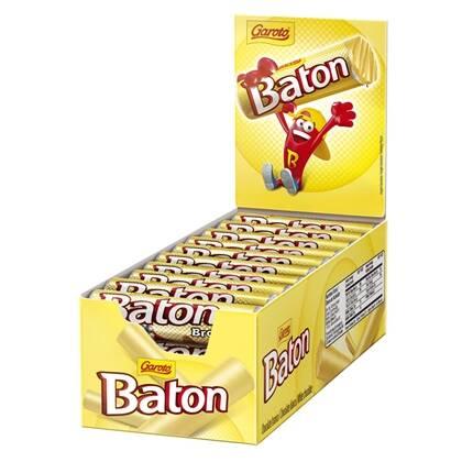 Onde comprar Chocolate Baton Branco 30unidade X