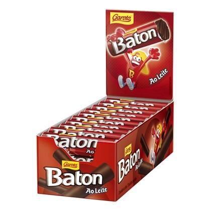 Onde comprar Chocolate Baton Ao Leite 30unidade X