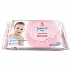 Onde comprar Lenço Umedecido Johnson's Baby Extra Cuidado - 48 Unidades