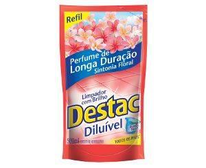 Onde comprar Limp C/brilh Destac Sint Flo Ref 12x500 | Limp. Poliflor Destac 12/