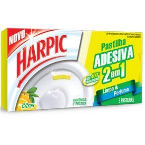 Onde comprar Desodorizador Sanitário Harpic Adesivo 2 Em 1 Citrus - 9g