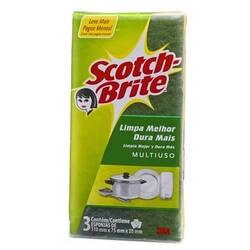 Onde comprar Esponja Scotch Brite C/3