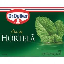 Onde comprar Chá Dr. Oetker Hortelã
