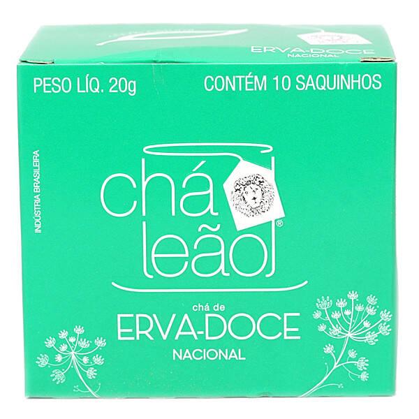 Onde Comprar Erva-doce Matte Leão 10 Sachês G