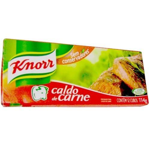 Onde comprar Caldo De Carne 12 Unidades Knorr 114g