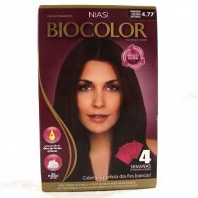 Onde comprar Tintura Biocolor Kit Creme 4.77 Marrom Escuro Intenso