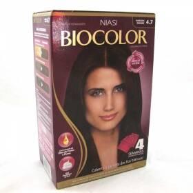 Onde comprar Tintura Biocolor Kit Creme 4.7 Marrom Escuro