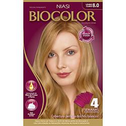 Onde comprar Tint Biocol Kit Creme 8.0 Lour Clar 1x1