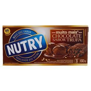 Onde comprar Barra De Cereais De Trufa De Chocolate Nutry Caixa Com 3 Unidades