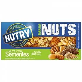 Onde comprar Barra De Cereal Nutry Nuts Com Sementes Com 02 Unidades De