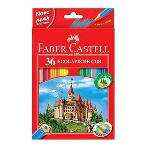 Onde comprar Faber-castell Ecolápis 36 Cores
