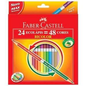 Onde comprar Faber-castell Ecolápis Bicolor 48 Cores