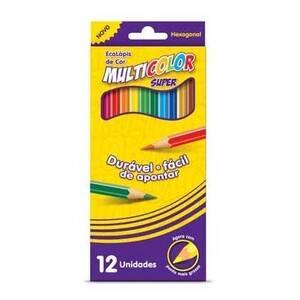 Onde comprar Faber-castell Ecolápis Multicolor 12 Cores
