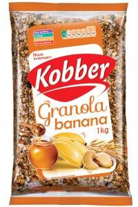 Onde comprar Granola Banana 1kg - Kobber
