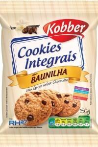 Onde comprar Cookies Integral Baunilha com Gotas de Chocolate 150g - Kobber