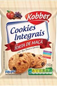 Onde comprar Cookies Integral Torta de Maça com Uva Passa e Canela 150g - Kobber