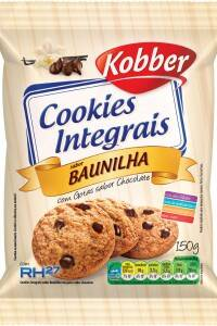 Onde comprar Cookies Integral Baunilha/Gotas de Chocolate 65g - Kobber