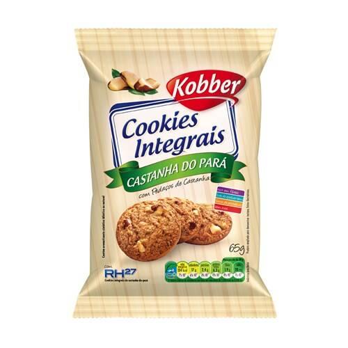 Onde comprar Cookies Integral Castanha do Pará 65g - Kobber