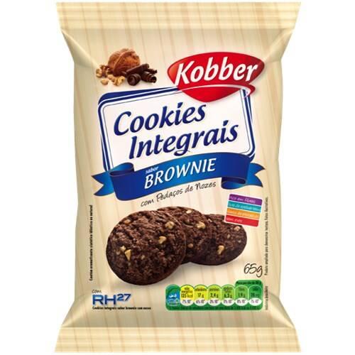 Onde comprar Cookies Integral Brownie com Nozes 65g - Kobber