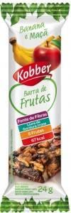 Onde comprar Barra de Frutas Banana e Maça 24g - Kobber