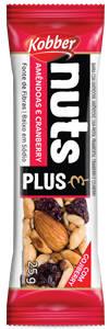 Onde comprar Barra Nuts Plus Amendoas e Cranberry  - Kobber