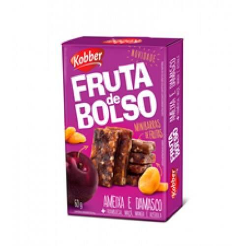 Onde comprar Frutas de Bolso Ameixa/Damasco 10g - Kobber