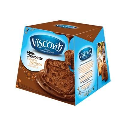 Onde comprar Panettone Visconti Mais Chocolate