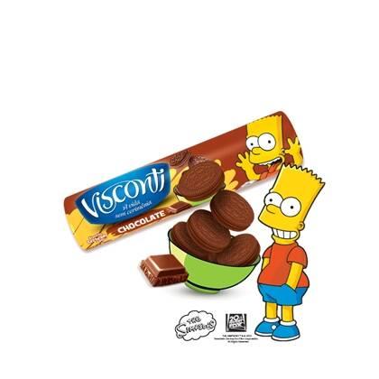 Onde comprar Biscoito Recheado Visconti Chocolate