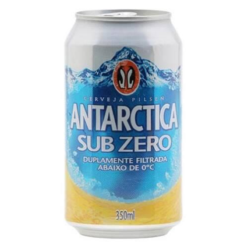 Onde comprar Cerveja Antarctica Sub Zero Lata 350ml