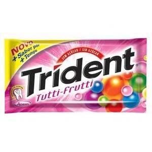 Onde comprar Chicle Trident Tutti Frutti 21unidade X 8,5g