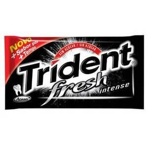 Onde comprar Chicle Trident Fresh Intense 21unidade X 8,5g