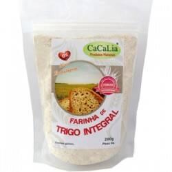 Onde comprar Farinha de Trigo Integral 500g - Cacalia