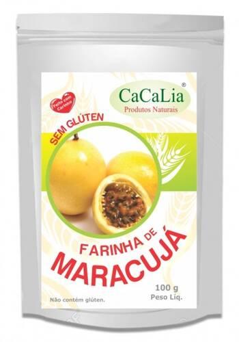 Onde comprar Farinha de Maracujá sem Glúten 100g - Cacalia