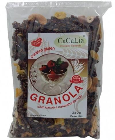 Onde comprar Granola - Cacau com Castanha de Caju 250g - Cacalia