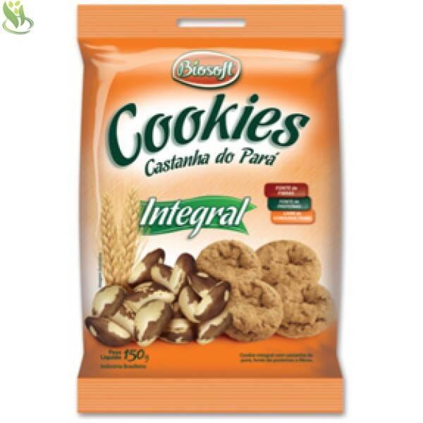 Onde Comprar Cookies Castanha do Pará 150g - Biosoft