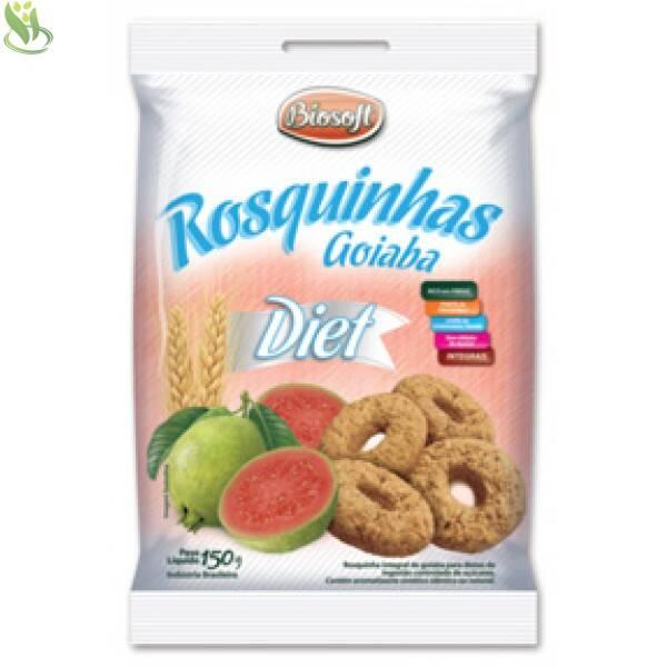 Onde Comprar Rosquinha Diet de Goiaba 150g - Biosoft