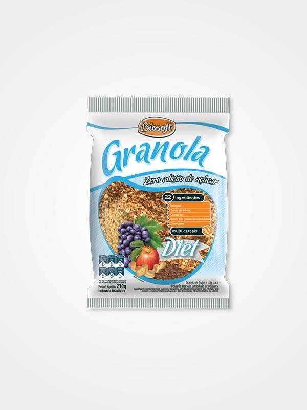 Onde Comprar Granola Diet 230g - Biosoft